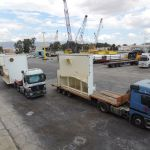 Transportation and Loading of Refinery Equipment