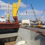 Loading the Cargo in the Cargo Holds