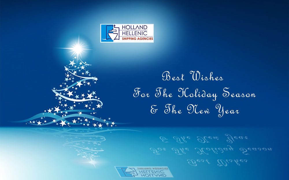 seasons greeting and happy new year
