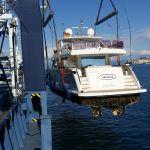 Loading a Yacht in Corfu